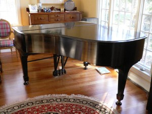 "Steinway Grand, 1929 Model ""L"" (back)"