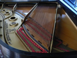 "Steinway Grand, 1929 Model ""L"" (inside)"